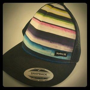 Hurley Snapback Trucker Hat Cap Mesh The Classics